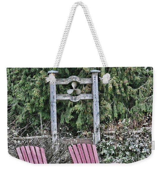 Prop Chairs Weekender Tote Bag