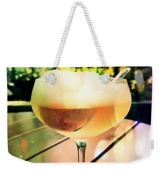 Prosecco Float Weekender Tote Bag