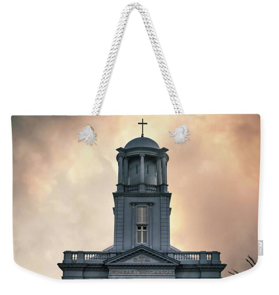 Psalm Before The Storm Weekender Tote Bag