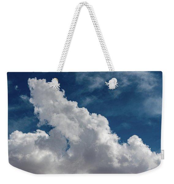 Puffy White Clouds Weekender Tote Bag