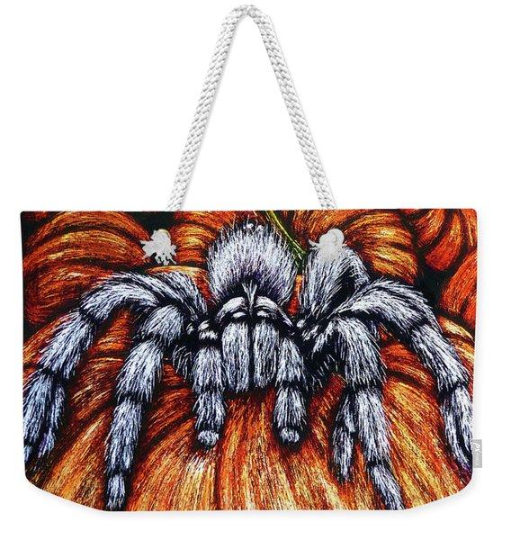 Pumpkin Patch Nightmare Weekender Tote Bag