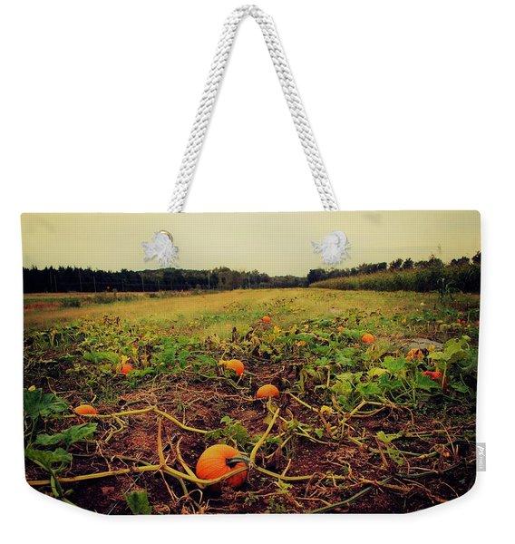 Pumpkin Picking Weekender Tote Bag