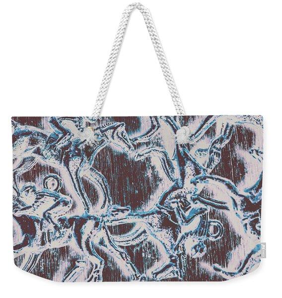Punting Pattern Weekender Tote Bag