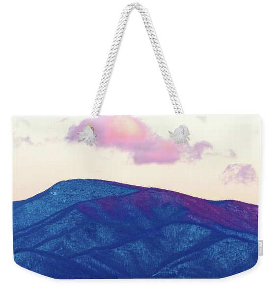 Purple And Blue Ridge Weekender Tote Bag
