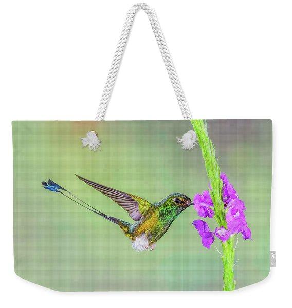 Purple Attraction Weekender Tote Bag