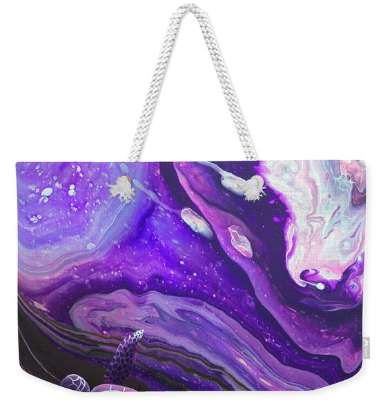 Purple Munchkin Weekender Tote Bag