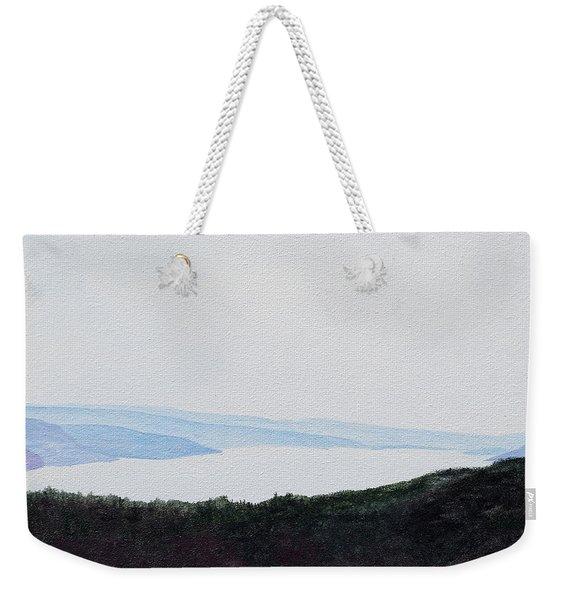 Quabbin Looking North Weekender Tote Bag