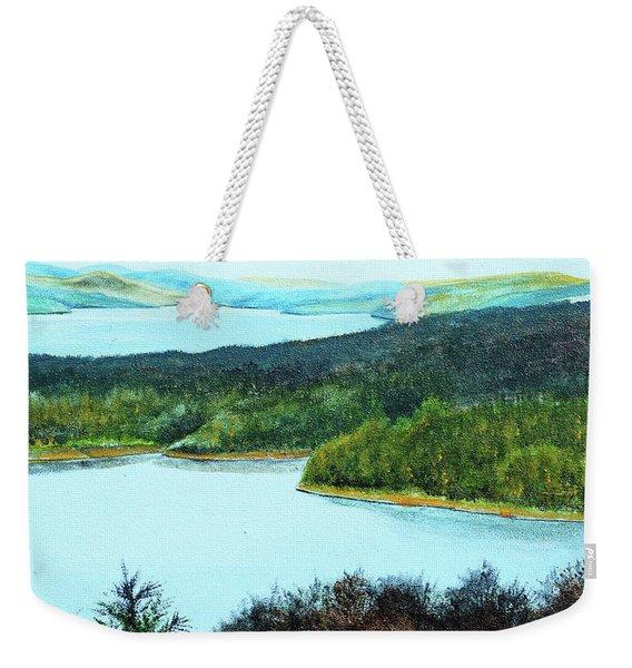 Quabbin Northwest Weekender Tote Bag
