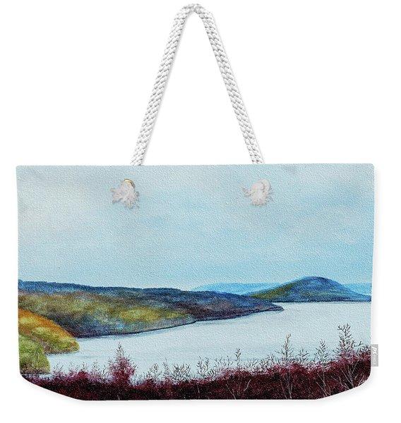 Quabbin Reservoir Weekender Tote Bag