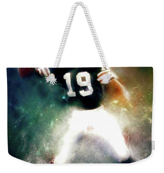 Quarterback Bernie Kosar Weekender Tote Bag