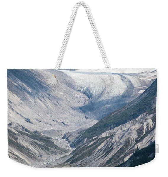 Queen Inlet Glacier Weekender Tote Bag