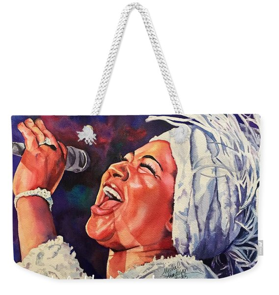 Queen Of Soul Weekender Tote Bag