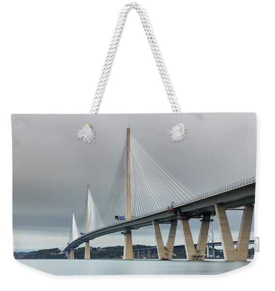 Queensferry Crossing Bridge 3-1 Weekender Tote Bag