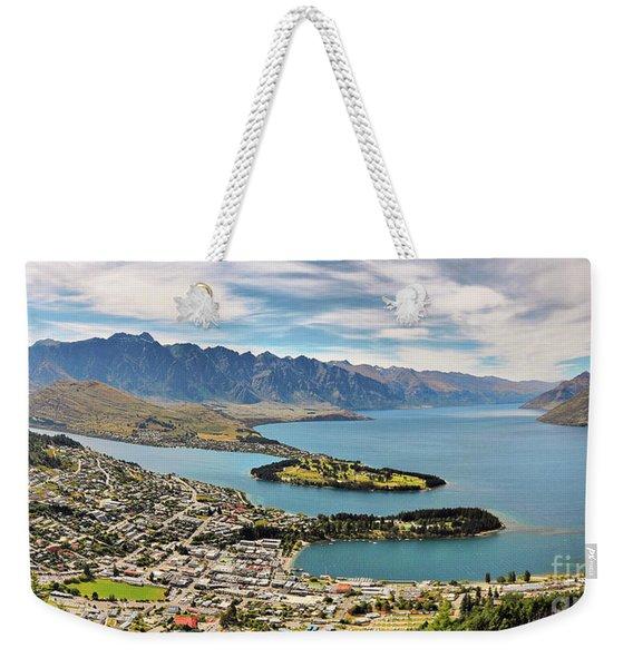 Queenstown Weekender Tote Bag