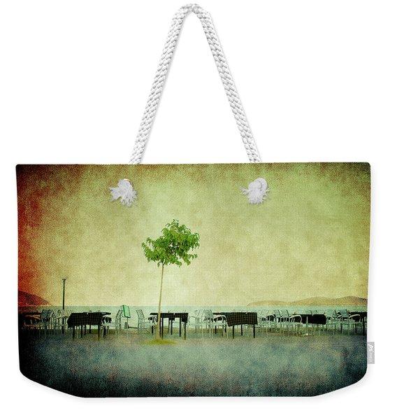Quiet Evening Weekender Tote Bag