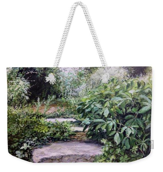 Quiet Path Weekender Tote Bag