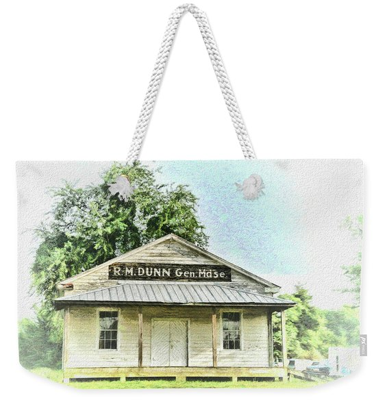 Quiet Reminder Of Yesterday In Goochland, County Virginia Weekender Tote Bag