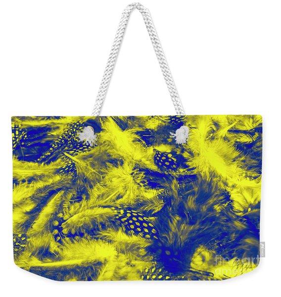Quilted Elegance Weekender Tote Bag