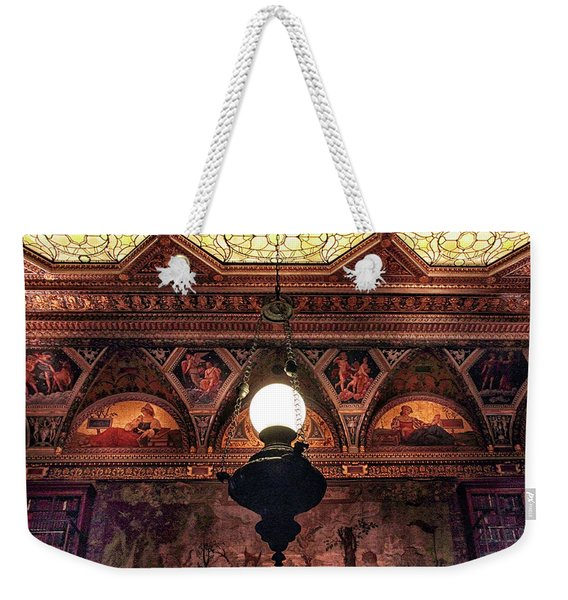 Morgan Library Lamp Weekender Tote Bag