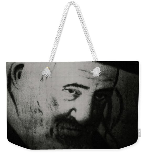 Rabbi Shayele Kerestirer Weekender Tote Bag
