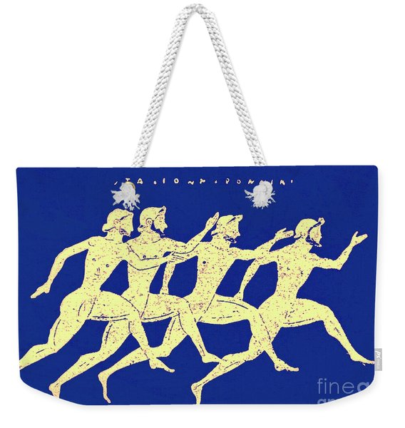 Race, Illustration From History Of Greece By Victor Duruy, 1890 Weekender Tote Bag