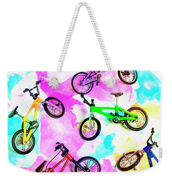 Racing Colours Weekender Tote Bag