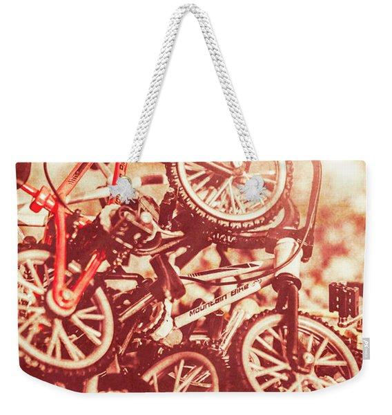 Racing Competition Weekender Tote Bag