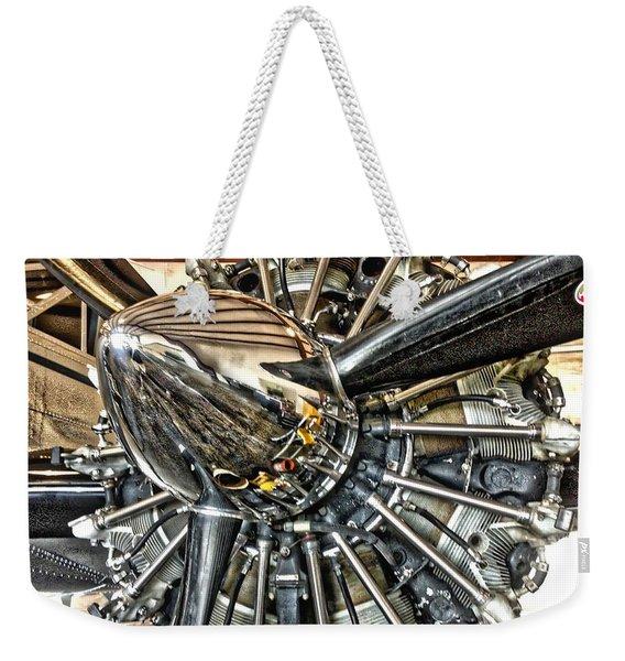 Radial Weekender Tote Bag
