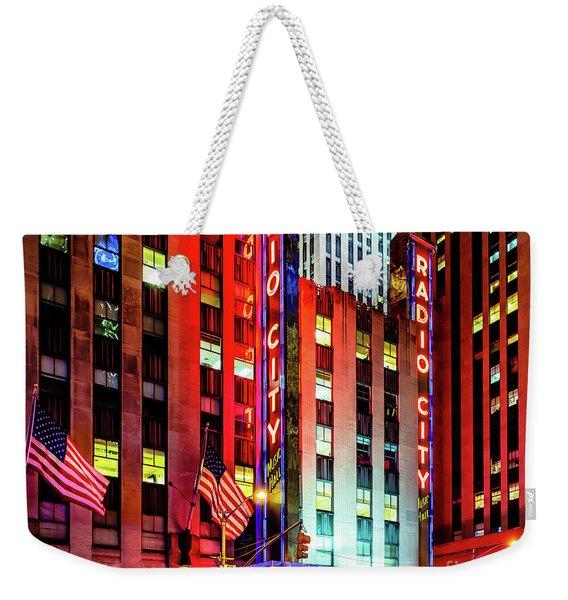 Radio City Music Hall Weekender Tote Bag