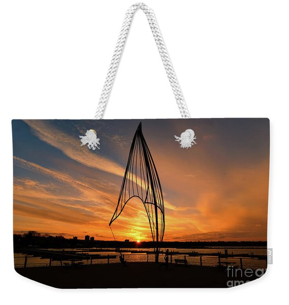 Rafaga Unleashed Sunset Weekender Tote Bag