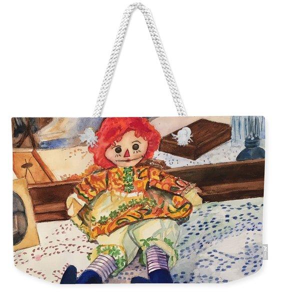 Raggedy Annie Weekender Tote Bag
