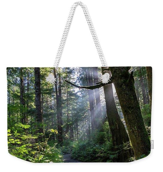 Rain Forest At La Push Weekender Tote Bag