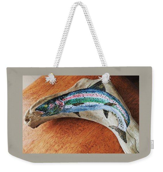Rainbow Trout #1 Weekender Tote Bag