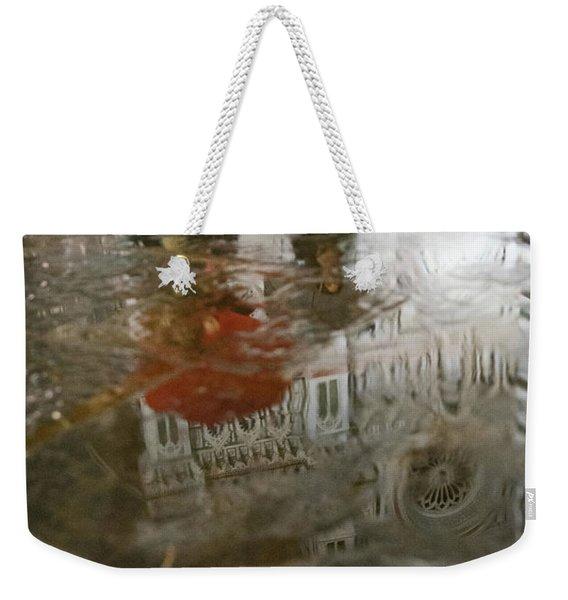 Raining Evening In Florence Italy Weekender Tote Bag