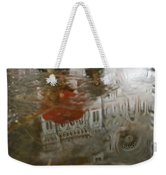 Raining Evening In Florence Italy Weekender Tote Bag