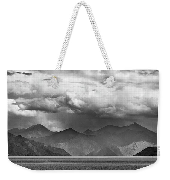 Weekender Tote Bag featuring the photograph Rains In China by Whitney Goodey