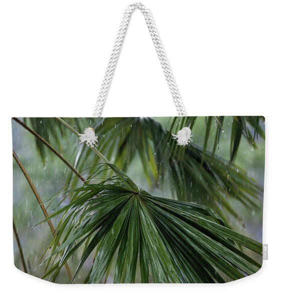 Rainy Day Weekender Tote Bag