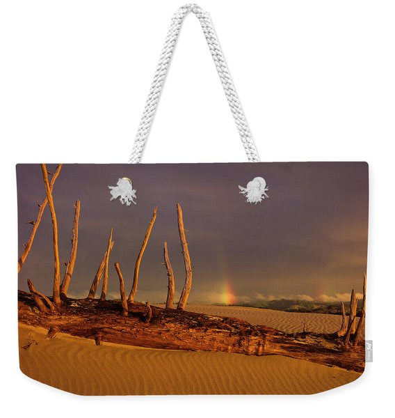 Rainy Day Dunes Weekender Tote Bag