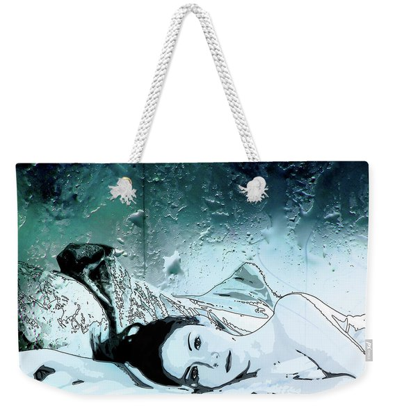 Rainy Day Weekender Tote Bag