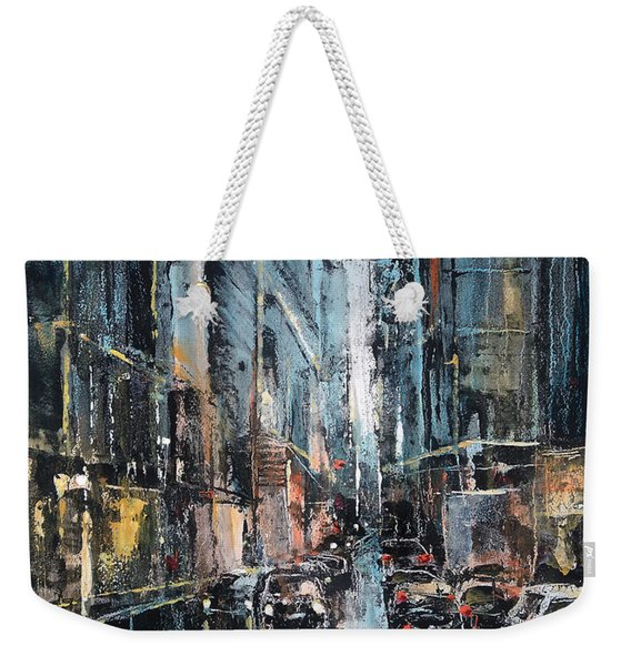 Rainy Expression Weekender Tote Bag