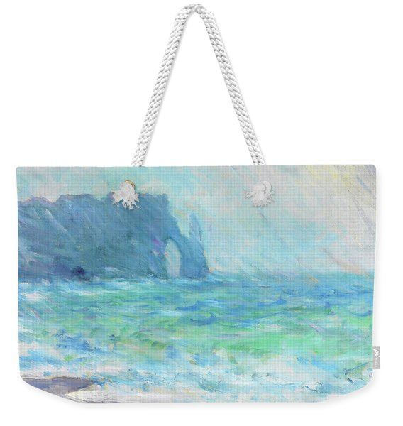 Rainy Weather, Etretat - Digital Remastered Edition Weekender Tote Bag