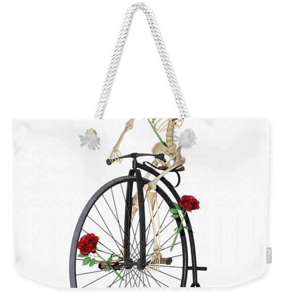 Rambling Rose Stroll Weekender Tote Bag