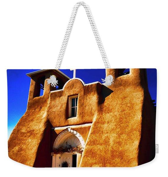 Ranchos Church  Xxxii Weekender Tote Bag