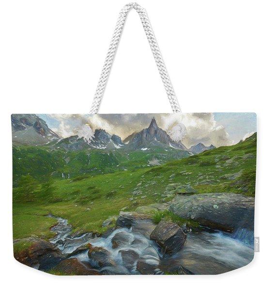 Range In The Claree Valley II Weekender Tote Bag