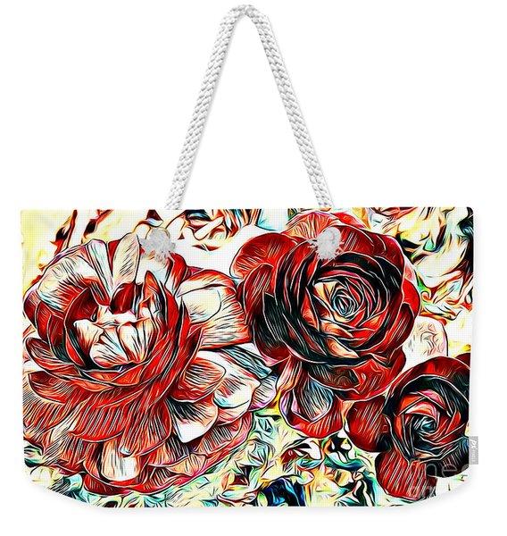 Ranunculus Revisited Weekender Tote Bag