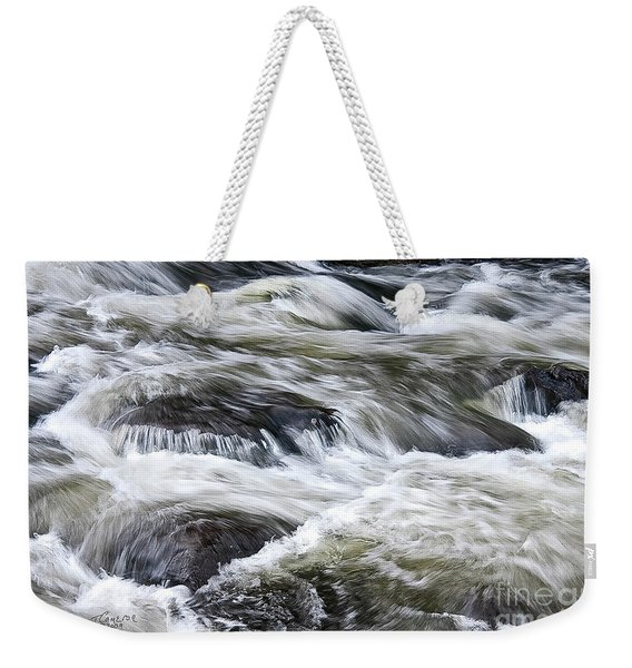Rapids At Satans Kingdom Weekender Tote Bag