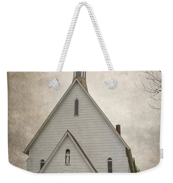 Raquette Lake Chapel Weekender Tote Bag