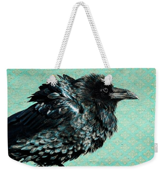 Raven Maven Weekender Tote Bag