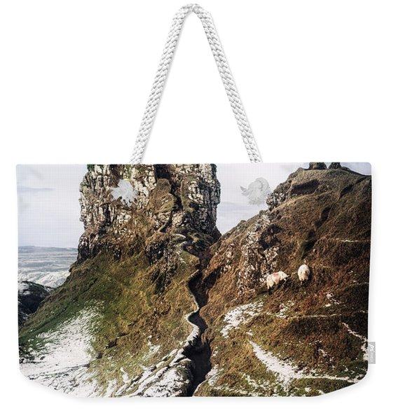 Reach For Me Weekender Tote Bag