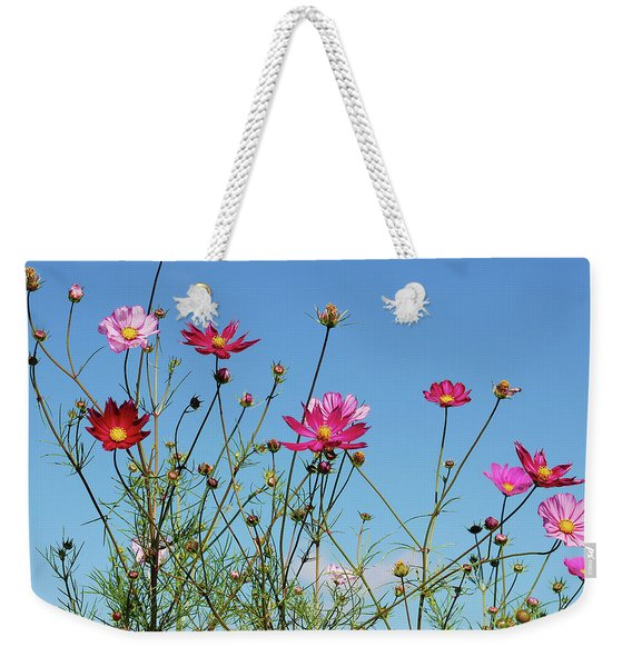 Reach For The Cosmos Weekender Tote Bag